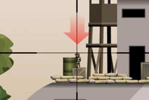 Free shooting game online: Counter-Snipe. Aim steady, find and neutralise the enemy sniper before he gets you. Earn money to upgrade your weapons, buy new avatars and so on… In the world […]