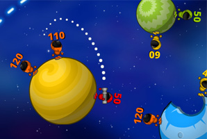 Awesome turn-based artillery game set in space! Predict the trajectory of the missiles and use gravity of the planets to blast away your opponents! The longer the path, the bigger […]