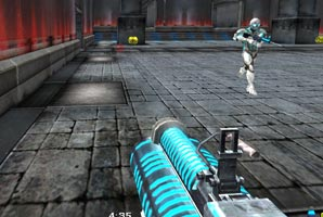 Get your adrenaline pumping in this space shooter clearly inspired by Unreal Tournament. Aim precisly and crush your rivals! Be careful where you want to jump, because landing out of […]