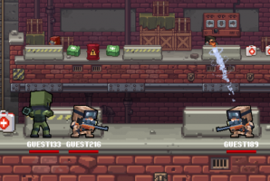 Gunfight IO is an awesome counter-terrorist action shooter with beautiful pixel art! Join the action and show the world who is the best sniper! Make sure to Controls: Mouse (right-click […]